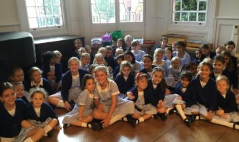 Year 6 introduce their Little Sisters