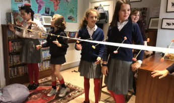 Year 6 – Science Wave Machine Experiment