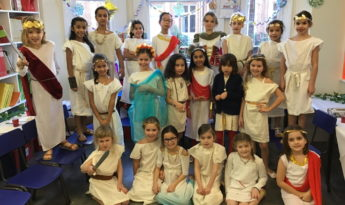 Roman Feast in Year 3