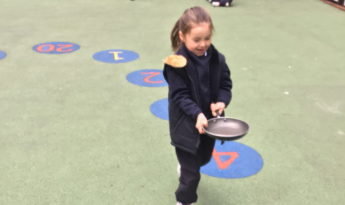 Shrove Tuesday in Reception