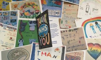 A thank you from Chelsea and Westminster for the lovely drawings