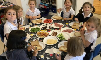 Reception Lunch at the Hungry Caterpillar Cafe