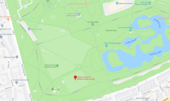 Battersea Park Map – Year 3 Cricket Fixture against WCCS, Year 2 Training session
