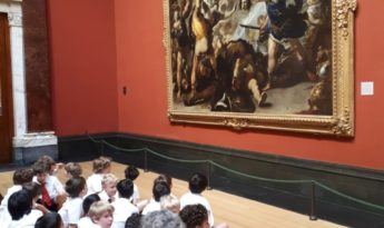 Year 3 visit to the National Gallery